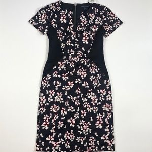 NWT French Connection Black Floral Dress